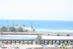 The view from the Del Mar grandstand is a breathtaking reason for a Breeders' Cup visit