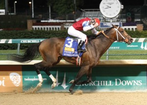 Calvin Borel worked his magic aboard Moonshine Mullin in winning the Stephen Foster on June 14