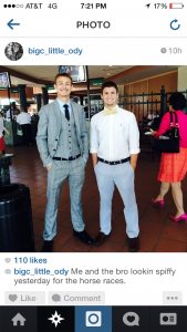 Former Smyrna high school baseball stars Beau Brewer (left) and Cody Bolyard recently enjoyed the sport of kings at Churchill Downs. These all-district 7 AAA diamond kings made the trek from Tennessee to the most hallowed of horse racing grounds for the June 14 Stephen Foster Super Saturday. As recent high school graduates, these two Bulldog standouts struck out in search of the excitement Thoroughbred racing offers. Ask either of them and they will quickly tell you they found it!