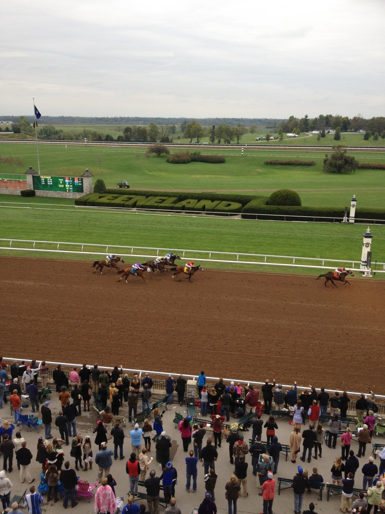 The beauty of Keeneland will be on the world's stage at the 2015 Breeders' Cup